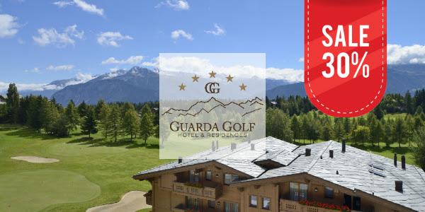 Акция от отеля Guarda Golf Hotel & Residences 5* на июнь 2019 со скидкой 30%!